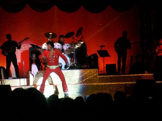 Memories Theater: Lou Vuto as Elvis - Memories Theatre in Pigeon Forge, TN
