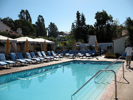 Ojai Valley Inn & Spa: the spa pool
