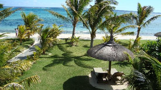 Dinarobin Beachcomber Golf Resort & Spa: .....with views!!