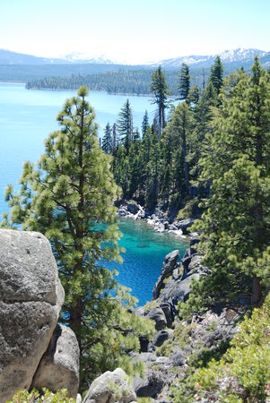 Lake Tahoe (California), Californie : From the Rubicon Trail hike