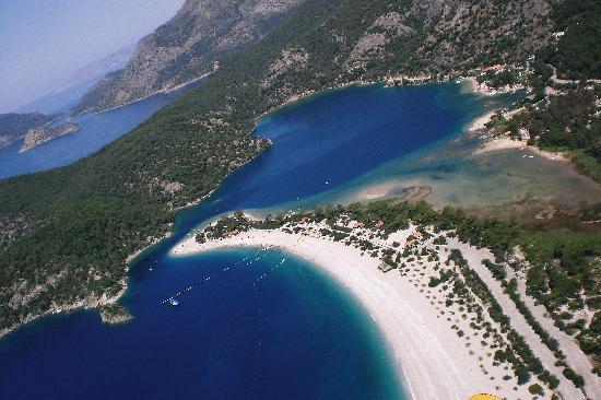 Plage d'Oludeniz (Lagon bleu) : blue lagoon