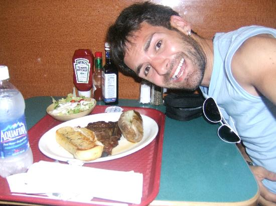 Tad's Broiled Steaks : me and my fav steak :)