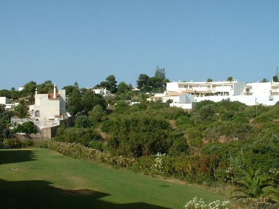 Vila Gale Nautico: looking out from our balcony at the back of the hotel, which gets the sun afternoon and evening