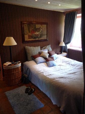 La Ferme De Marion: Blaues Schlafzimmer