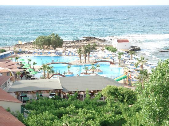 Eri Beach & Village: Vue du 5 eme étage de l'hotel