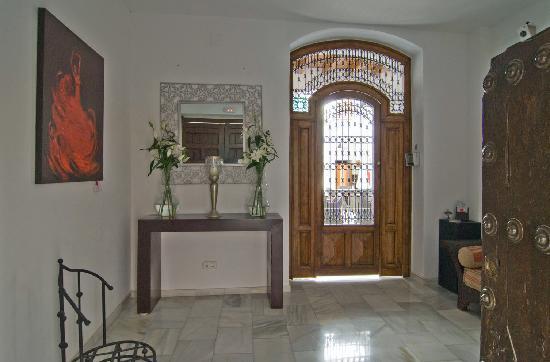 Hotel Palacio Blanco: Entry