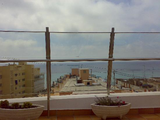 Hotel Avenida: view from the roof of the hotel