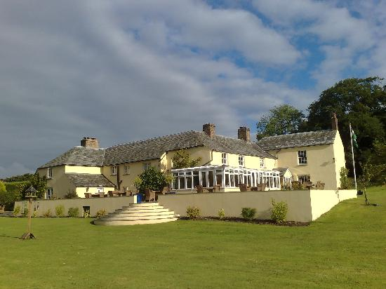 Blagdon Manor Hotel: great setting
