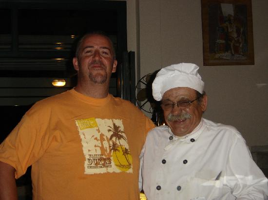 Adonis Studios : Husband and Chef at the Iokasti restaurant