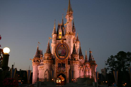 Orlando, Floride : El famoso castillo de Disney world