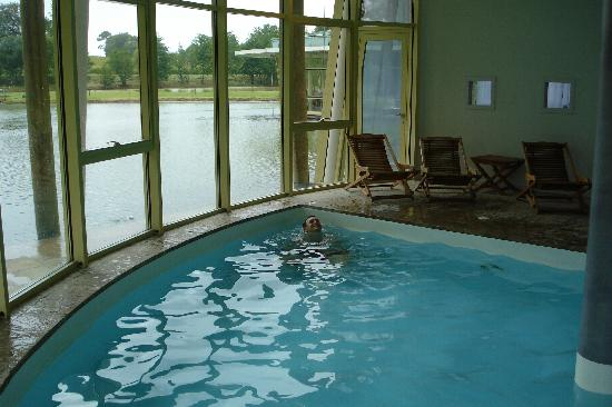 Hotel Des Lacs D'Halco : swimming pool