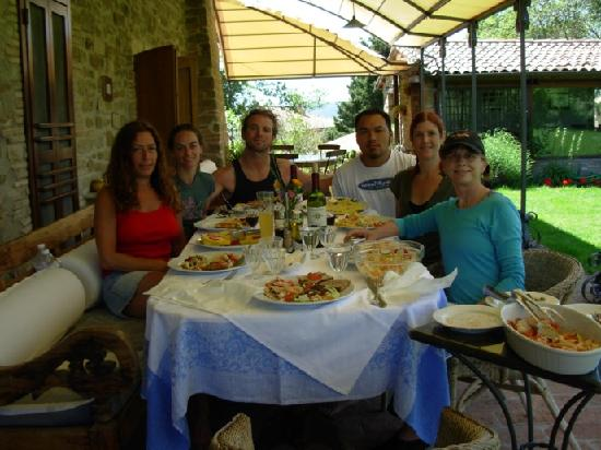 Locanda del Gallo : Awesome lunch after a hike