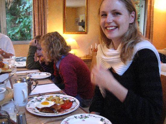 Le Belvedere : petit dej à l'anglaise