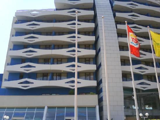 Trakia Plaza Hotel : front of trakia plaza