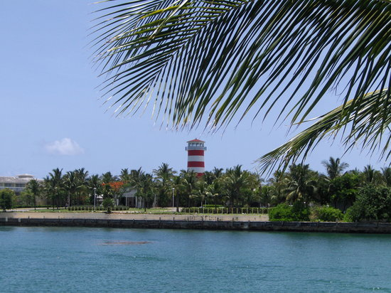 Grand Bahama Island: Port Lucaya lighthouse