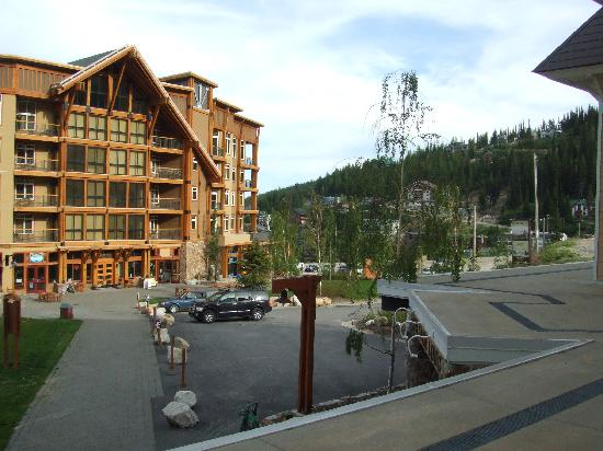 Schweitzer Mountain Resort Lodging : view from our 2nd room