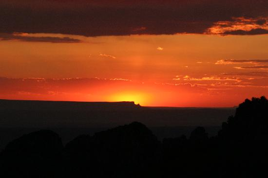 Sandia Peak Tramway: Sunset Over Albuquerque