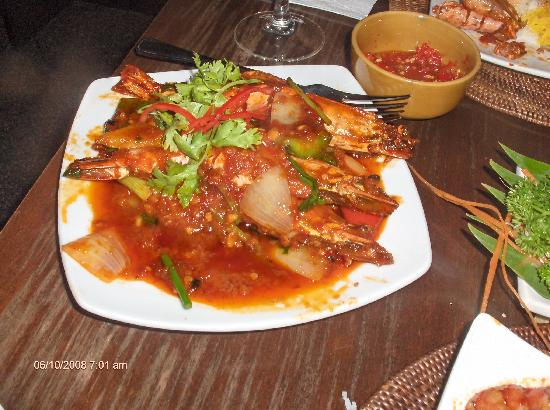 Holiday Inn Singapore Atrium: Chili Prawns