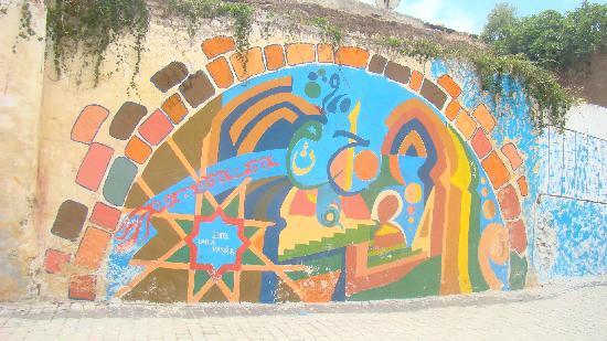 Azemmour, Marrocos: deco medina