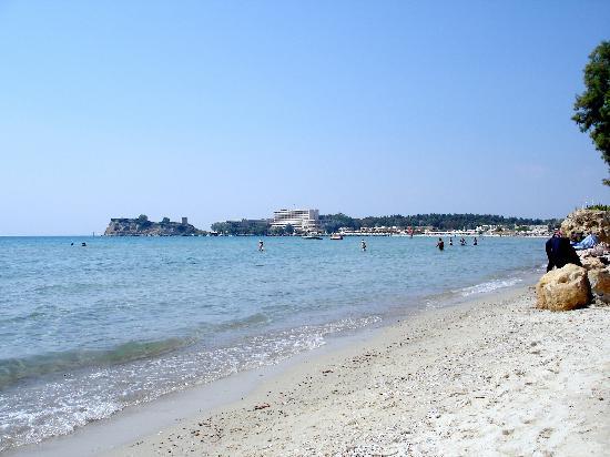 Sani Club beach view
