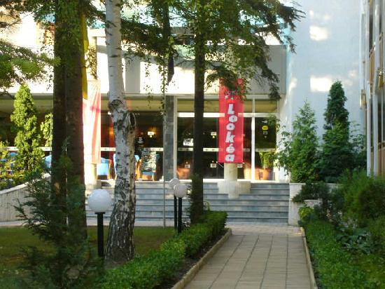Hotel Malibu: entrée du club albena lookea