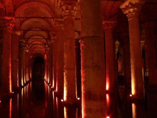 Isztambul, Törökország: Citern Basilique