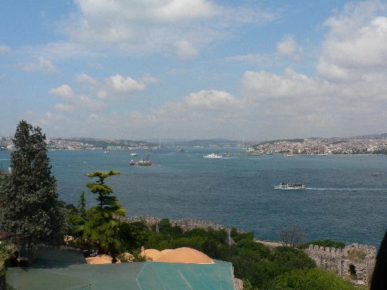 Isztambul, Törökország: Topkape - vue sur le bosphore