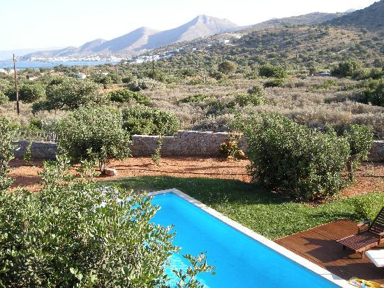 Elounda Carob Tree Valley: View from villa