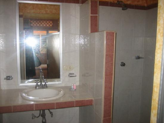Hotel Hortencia: bathroom