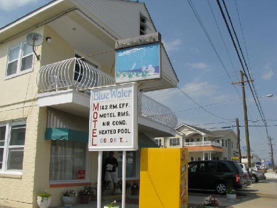 Blue Water Motel : Entrée