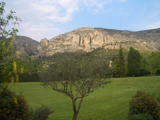 Moustiers Sainte-Marie, Francia: view