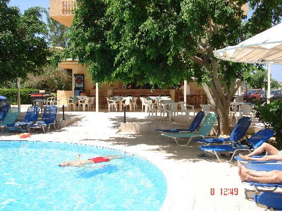 Castro Hotel: Pool bar