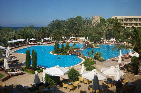 Sani Beach: pool