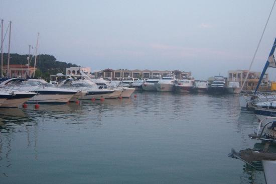 Sani Beach : marina
