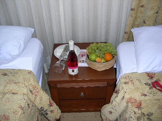 Hotel Mina: accueil selon convention tour opérateur