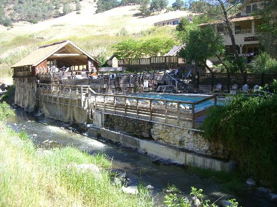 Wilbur Hot Springs: The Baths