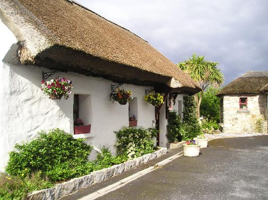 Cloch na Scith Thatched Cottage: The cottage