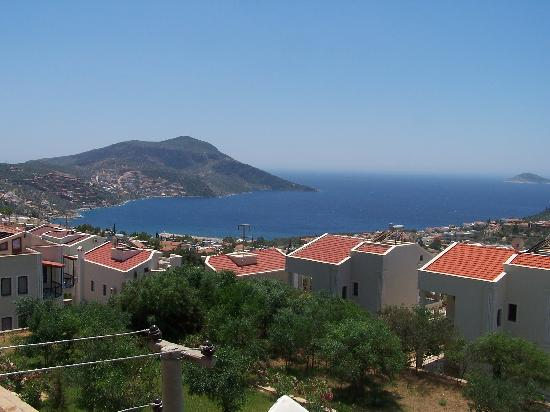 Samira Resort: View from hotel of Kalkan Harbour