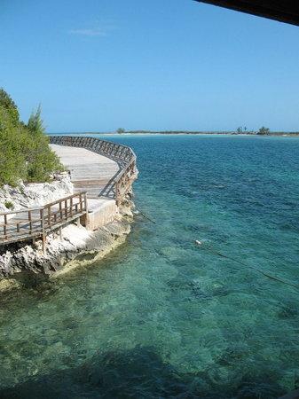 Bahamalar: Rose Island walkway