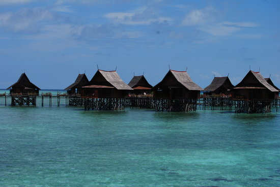 Pulau Sipadan, Malaisie : 'Home' for a few days...