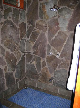 Arco Iris Lodge: Honeymoon Cabin - shower