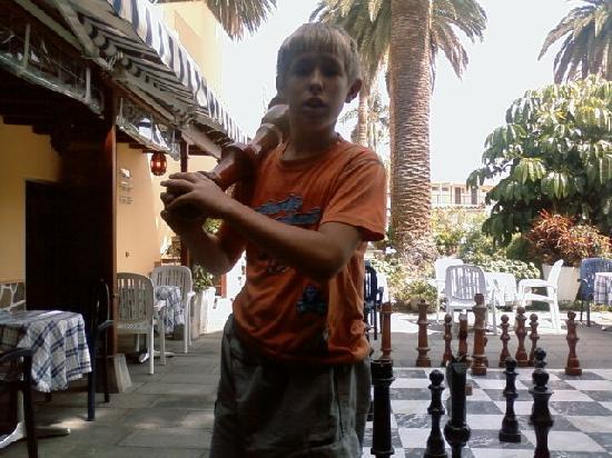 Hotel RF San Borondon: king size chess