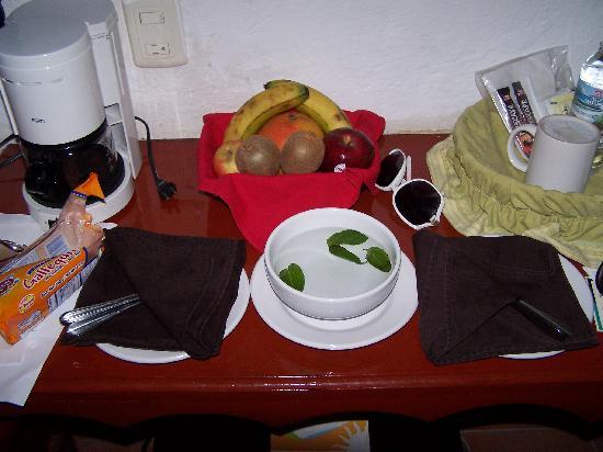 Hotel Playa del Karma: refreshments