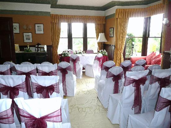 Yeoldon House Hotel: the room we got married in