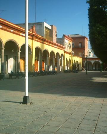 Valle de Santiago, México: Square of the Parque Municipal