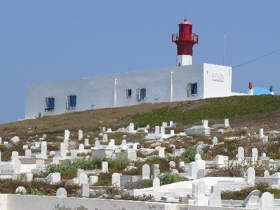 Hotel Riu El Mansour: cimetière marin et phare