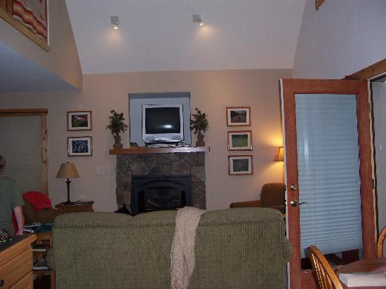 Solitude Cabins: The living room