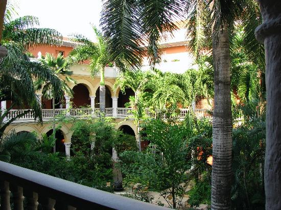 Sofitel Legend Santa Clara: Courtyard from 2nd floor