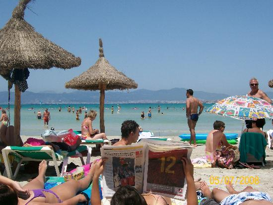 HSM Reina del Mar: the beach