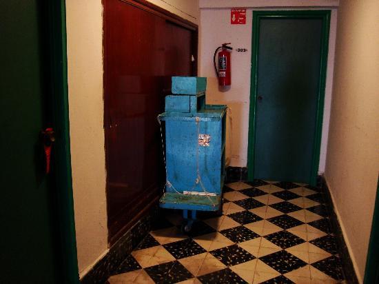 Mision Merida Panamericana : Proprete du couloir devant notre chambre